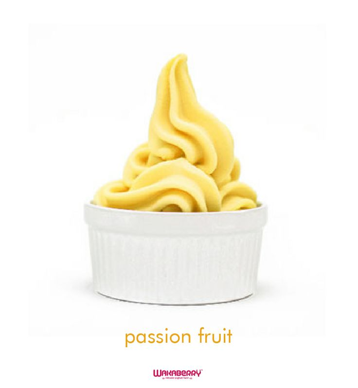 Wakaberry Flavour: passion fruit