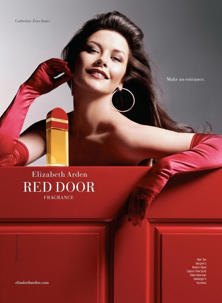 Red is...a color that will always remind me of my grandmother (because she used to wear this fragrance.)