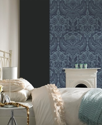Ooh - this would make me feel fancy.  I like it!  -Desire: Blue wallpaper