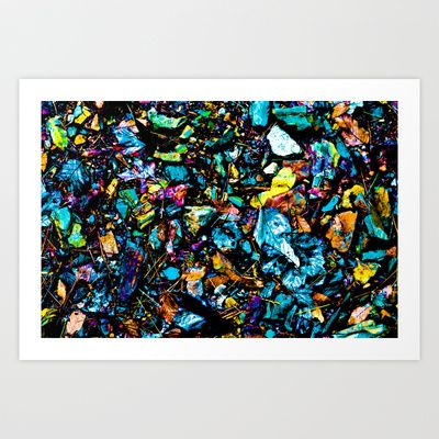 Collage of Leaves on the Ground Art Print by Tim Eisenhauer - $17.68