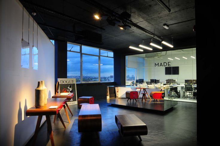 bureau de change: made.com showroom