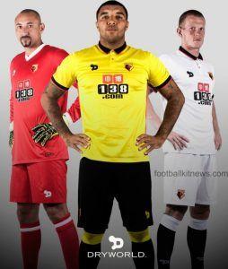 New Watford FC Kit 2016 17