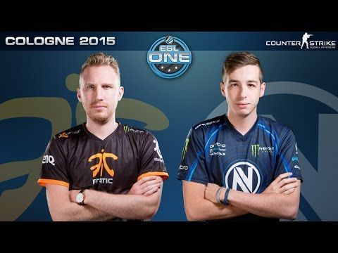 CS:GO - Fnatic vs. EnVyUS [Dust2] - ESL One Cologne 2015 - Grand Final Map 1 - YouTube