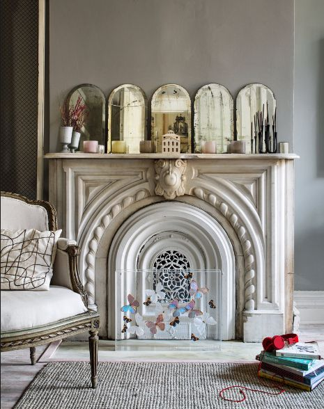 19 best Vintage Style Fireplaces images on Pinterest Fireplace