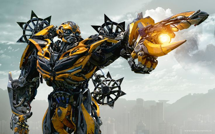 bumblebee in transformers 4 age of extinction wide - cool wallpapers download