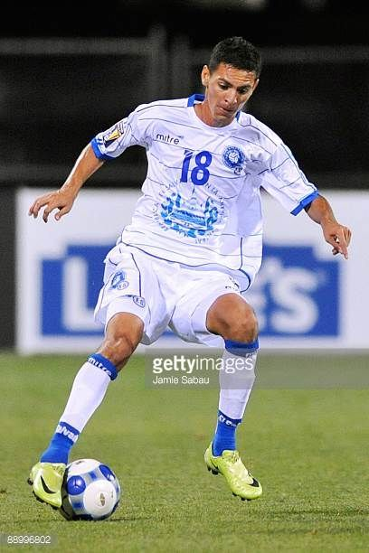 Salvador Coreas of El Salvador controls the ball against Canada during a CONCACAF Gold Cup match at Crew Stadium on July 7 2009 in Columbus Ohio