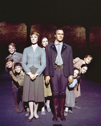 The Von Trapp family from The Sound of Music (1965) I sooo love this movie! And how handsome is Christopher Plummer?