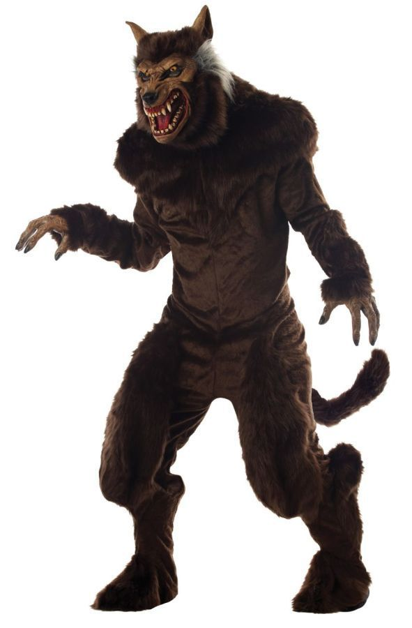 Werewolf Toys For Boys : Deluxe realistic creature werewolf costume lobisomem
