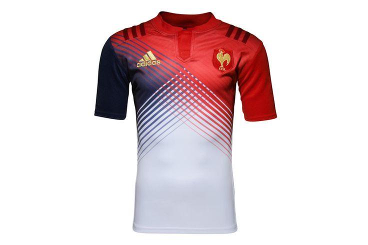Francia 2016/17 Alternativa M/C Réplica - Camiseta de Rugby