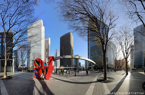 Love is in the air, Shinjuku, Tokyo, Japan