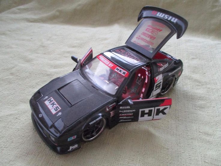 Awesome Awesome JADA TOY NISSAN 240SX NISMO No. 50749-9 - 1:24 Scale HKS 2017 2018