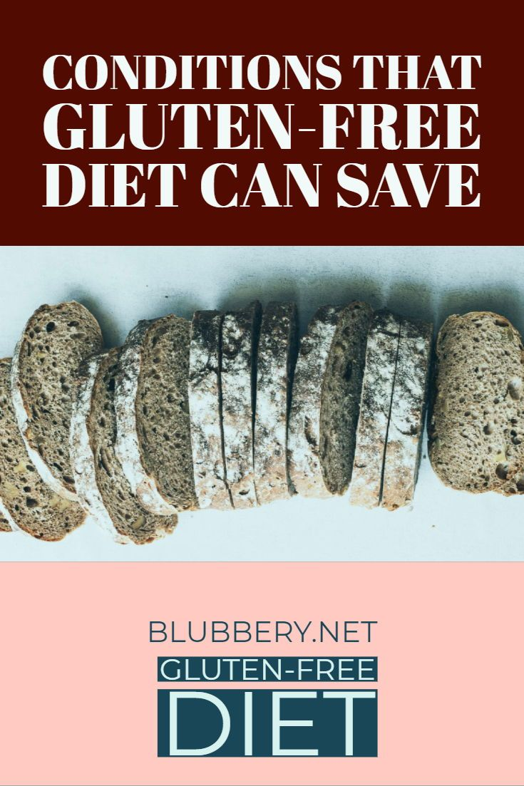 conditions that are helped with gluten free diet