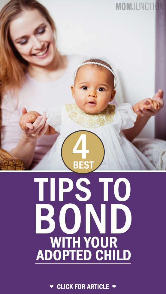 Tips On Bonding With Your Adopted Child: Did you know that adoptive children and their parents bond as well, and sometimes even better than biological children and parents.here are some tips on how to strengthen that parent child bond.