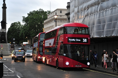 New double decker bus !