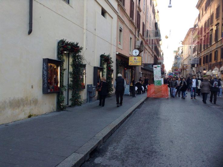 Alfieri Leather Store- Via del Corso #2 - Christmas 2014