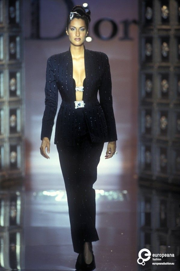 Yasmeen Ghauri - Christian Dior, Autumn-Winter 1996, Couture