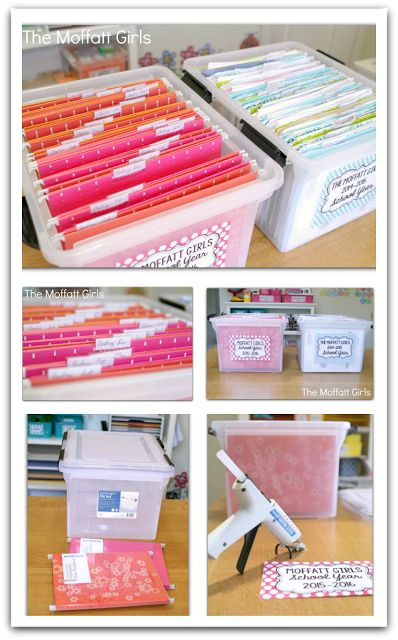Clear the PAPER CLUTTER! Organize a file box by months! Several ways to use this SIMPLE system!