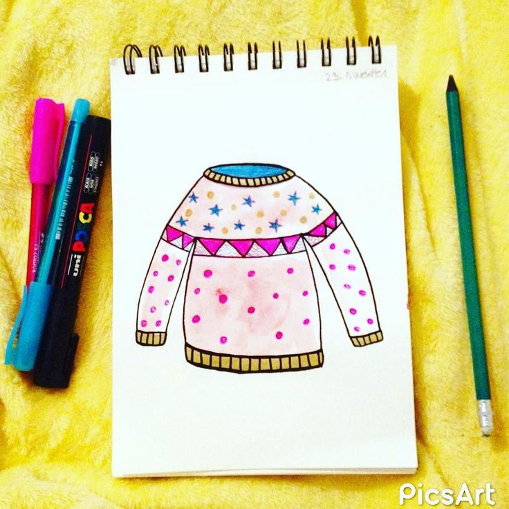 #365dayswatercolorproject Day 23 - Sweater - #ssdwatercolorproject #ssdwatercolorproject2017 #art #artistic #art #watercolorsketch #watercolor #design #designer #artislife #lovemyjob #lovmyjob #lovemywork #thehappynow #thatsdarling #pursuepretty #graphicdesign #handpainted #handdrawn