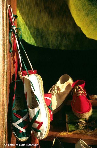 Espadrilles aux couleurs du Pays Basque