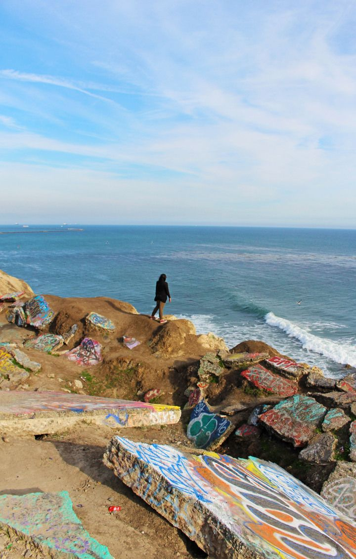 Sunken City, San Pedro, California - A hidden treasure and a must-see site when visiting Southern California! Click through to find out more!