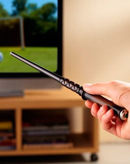 Kymera Magic Wand Remote Control - Universal Gesture Based Remote Control - Gift idea for Harry Potter lovers - Let watching Tv be a magical experience with this Kymera Magic Wand Remote Control! The perfect gift for Harry Potter lovers! - $62.99