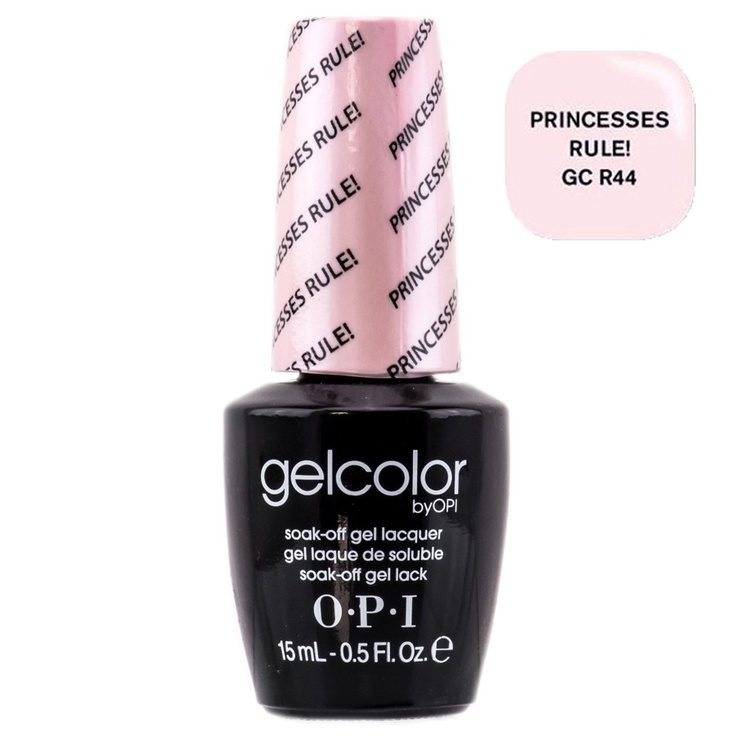 GelColor by OPI Soak-Off Gel Laquer nail polish - Princesses Rule! - GC R44