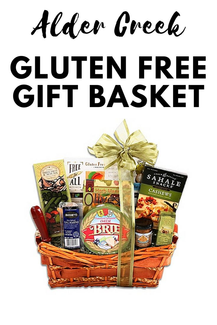The 25 best gluten free gift baskets ideas on pinterest gluten gluten free gift basket ad negle Image collections