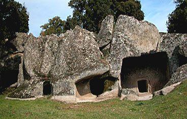 necropoli di Ludurru  -Buddusò