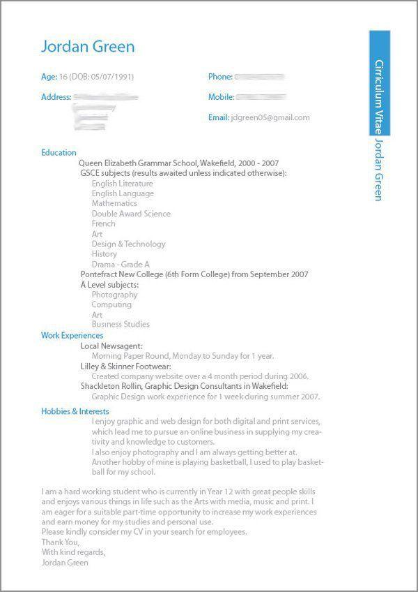 The 32 best UI profile images on Pinterest Resume, Resume design