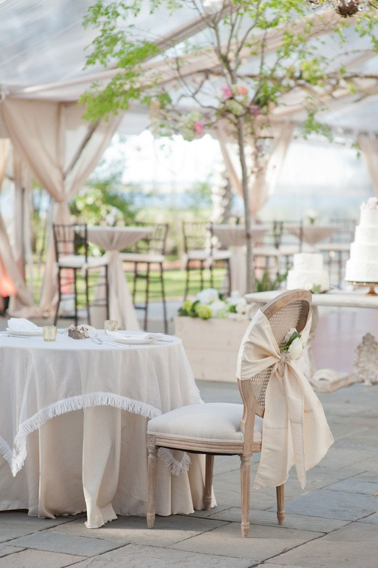 Rose gold wedding inspiration onewed rose gold ruffly wedding chair - Charleston Wedding From Gayle Brooker Read More Www Find This Pin And More On Rose Gold Wedding Ideas
