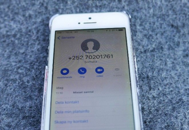x-defaultPolice in Sweden are warning the public to avoid answering calls from unknown foreign numbers after apparent telephone scammers from Somalia targeted Swedish phones. A host of suspicious calls from numbers starting with the country code +252 were reported to the police between May 26th...