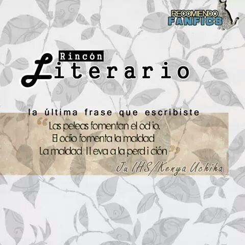 #Frases #FrasesLiterarias #Fanfics