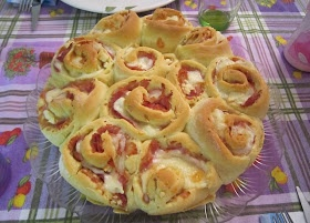 Torta di Rose Salata BimbyRicette Torte, Bimby Da, Torte Salat, Bimby Salati, Rose Cake, Thermomix Recipes, Salata Bimby, Bimby Tm31, Rose Salata
