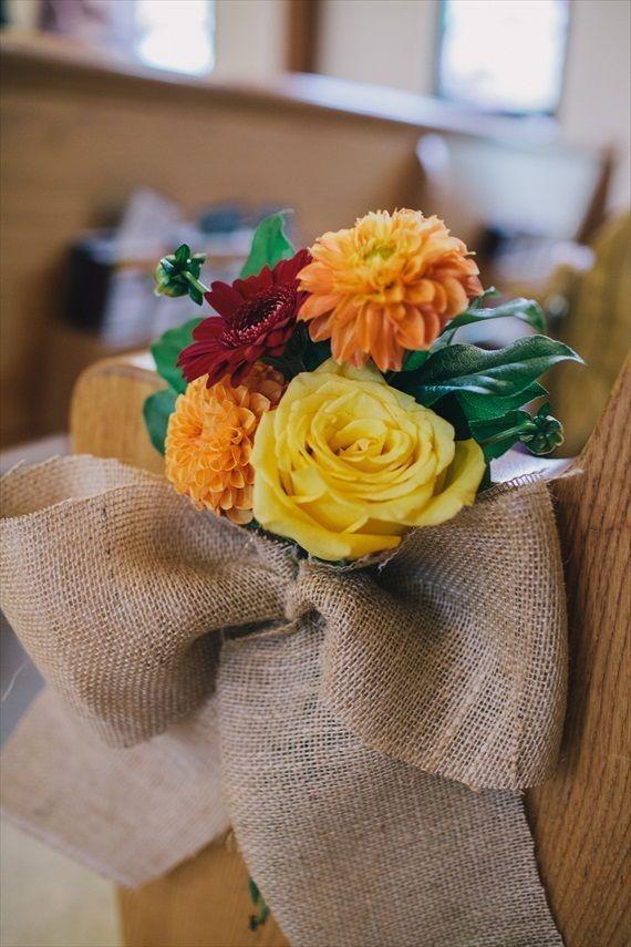 Best Fall Wedding DIY Projects