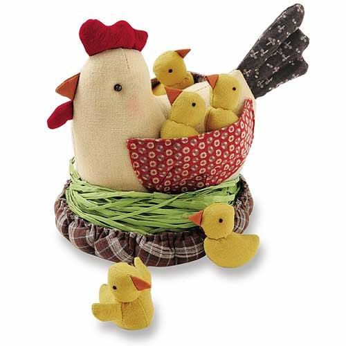 Ideal Playing Toy. Discontinued Chicken Patchwork by MeMeCraftwork, $62.00