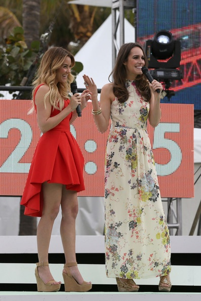 Lauren Conrad Photo - Lauren Conrad and Louise Roe host the Cotton 24 Hour Runway Show