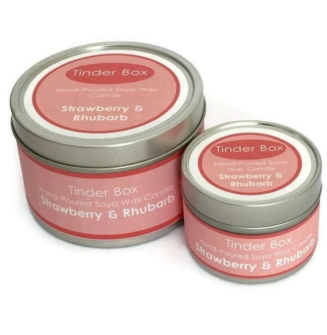 A perfect fruity fragrance; not too sweet and not too sour. This fragrance combines freshly picked strawberries and pink rhubarb. | Shop this product here: http://spreesy.com/TinderBoxCandles/1 | Shop all of our products at http://spreesy.com/TinderBoxCandles    | Pinterest selling powered by Spreesy.com