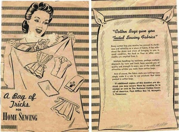 Feed sack clothing directions