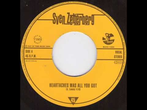 Sven Zetterberg - Heartaches was all you got - YouTube