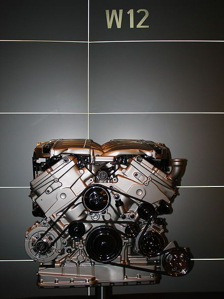 Volkswagen GroupW12 engineas fitted in the Phaeton W12