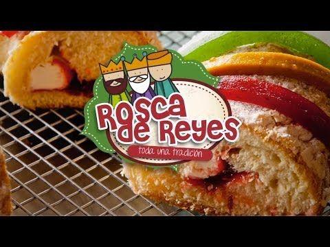 Rosca de Reyes Rellena (Receta fácil, rica y sencilla) - YouTube