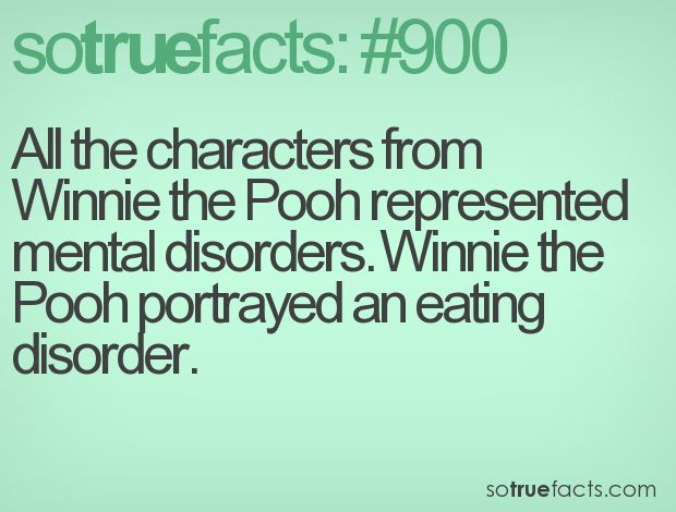 winnie the pooh psychological disorders essay Page 1 of 4 - psychological disorders + winnie the pooh - posted in general ed discussions: so while i was procrastinating my philosophy essay i came across a quick quiz online.
