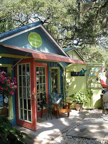 Shops on Tybee Island, Georgia