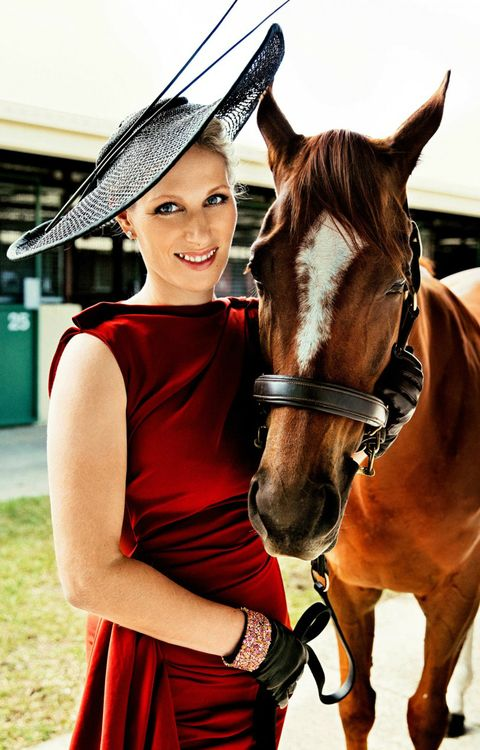 Olympic champion and granddaughter of Queen Elizabeth II, the lovely #ZaraPhillips. #Horses