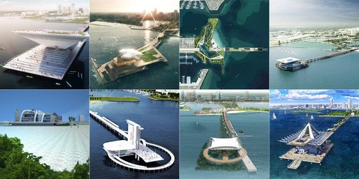 New St. Pete Pier – Finalists 2.0   The 8 finalists of the new New St. Pete Pier competition   Archinect