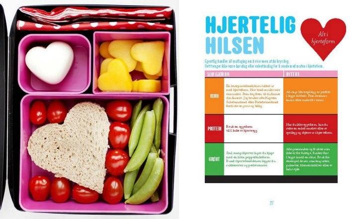 hjerteegg, ,tomater, sukkererter og hjertebrødskive