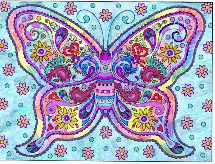 Dena Mueller 18 Division From Creative Haven Mendhi Designs Coloring Book