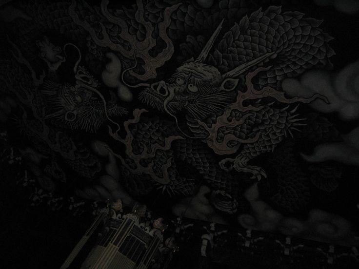 建仁寺 小泉淳作『双龍図』天井画