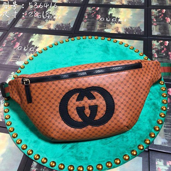 6ac1c9f0d Gucci 536416-2 Gucci-Dapper Dan belt bag in 2019   Gucci Belt Bag ...