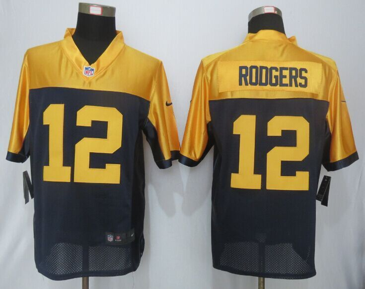 ... Nike Green Bay Packers 56 Julius Peppers Yellow Blue Elite Jersey 24.5  NFL Green Bay Packers ... e443e12a0